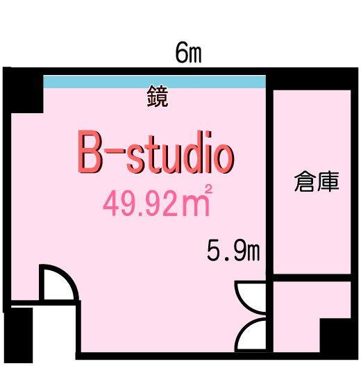Bスタジオ図面1