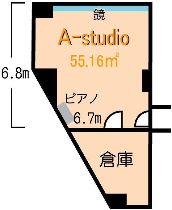 Aスタジオ図面1